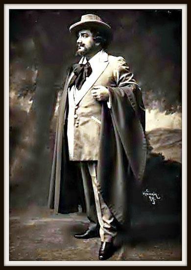 Gustave Charpentier JULIEN  (Julien) - Metropolitan N.Y. 26.1.1914