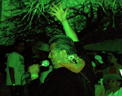 Cayo Vicente en el Festival Internacional de las Artes, Navachiste Sinaloa, México