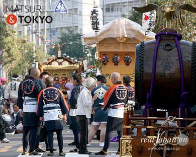 花畑鷲神社大祭, 花畑鷲神社式年大祭, 12年に一度, 大鷲神社本社神輿, 2017年10月8日