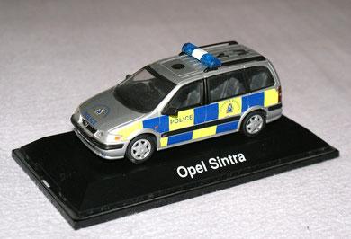 Vauxhall Sintra Polizei