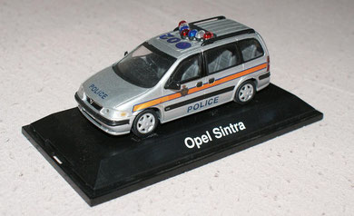 Vauxhall Sintra Police