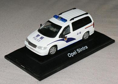 Buick GL8 Shangai Police