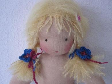 Heute hatte ich die Ehre und Freude, dieses liebe Puppenmädchen persönlich in sein neues Heim zu bringen!