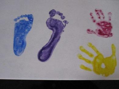 """Hier hat alles """"Hand und Fuß"""" :-)"""