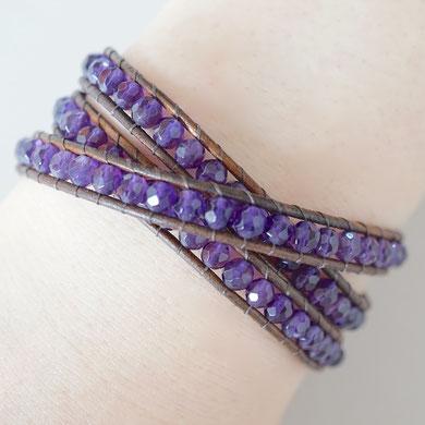 とても綺麗な紫色