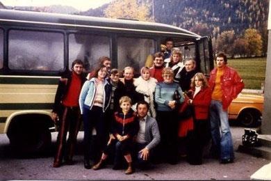 Vereinsausflug 1976