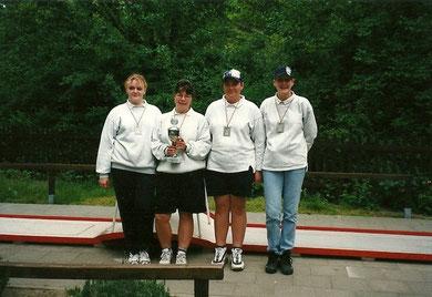 Die Damenmannschaft wurde Vizemeister in der zweiten Bundesliga Nord und qualifizierte sich zur Deutschen Meisterschaft