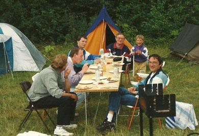 Juli 1993, Wochenendtour nach Dänemark