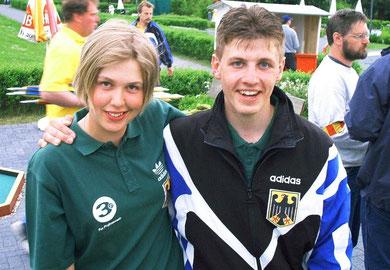 Bad Münder 2002 - Sara-Kim Hanke und Timo Springborn