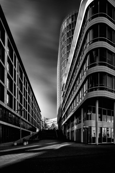 Architekturfotos in schwarz-weiss