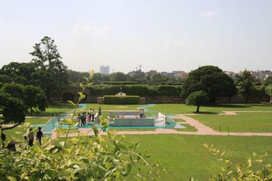 Grabstätte v. Mahatma Ghandi