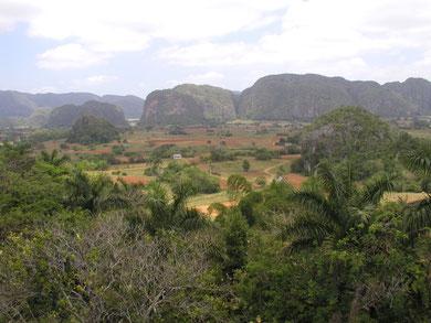 Pinar del Rio, die westlichste Provinz Cubas