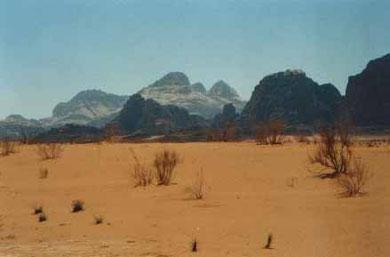 Wadi Rum hier wurde der Film - Lawrence von Arabien - gedreht