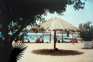 Strand in Aqaba am Roten Meer