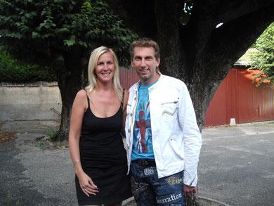 Kéty et Thierry Garcia (imitateur) 2010