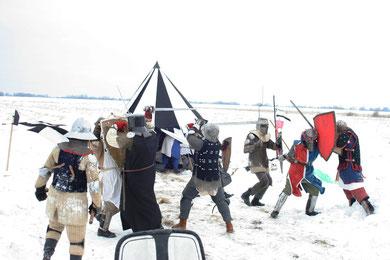 2010 г. Неудачная реконструкция сражения при Рудау.