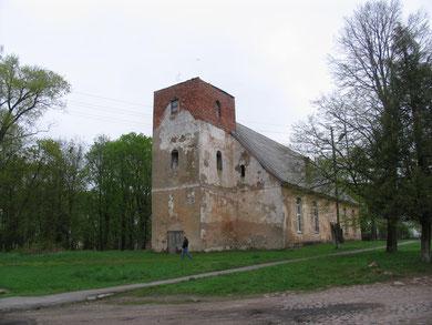 Kreutzingen-Большаково. Кирха передана правосланой церкви  2010 г