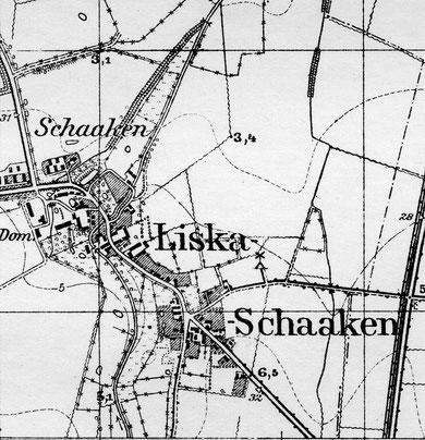 карта 1938 г.