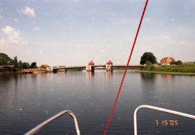 Лабиау - Полеск мост Адлер