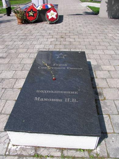есть могила пп Мамонова НВ