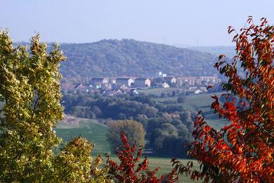 Blick über Bad Sulza
