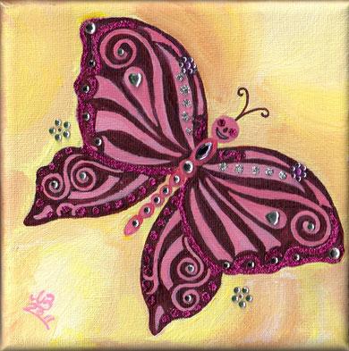 Sunshine Glamour Butterfly