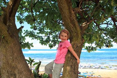 Auch Lina will surfen lernen!