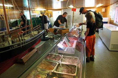 Frischer Fisch vom Fischer Larsson