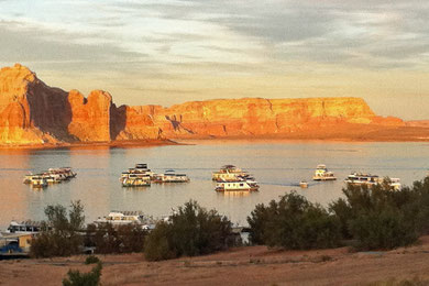 Abendstimmung am Lake Powell