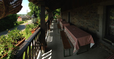 terrasse au balcon