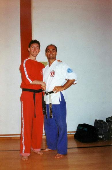 Roberto con Jean Frenette - Stage Ciocco 1986
