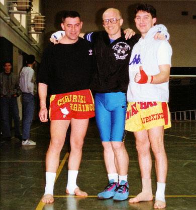 Bruno e Roberto al seminario di Fred Royers a Milano anno 1991