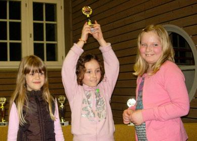 Wettkampfgruppe Mädchen 3. Platz Riedseeschule