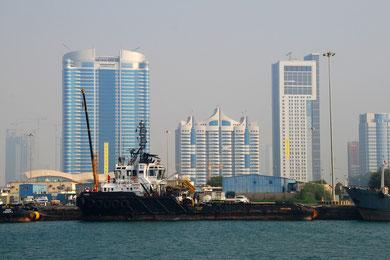 Abu Dhabi - Hafen
