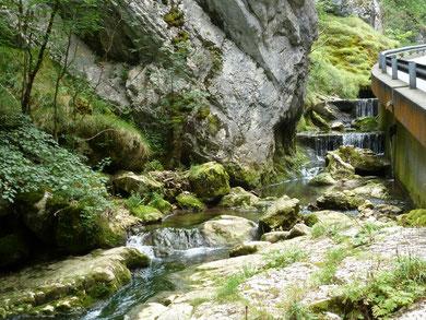 rotsen, klimmen, wandelen, pootje baden