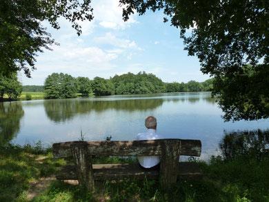 pêcher, se promener, vacances avec le vélo