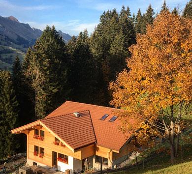 Bauernhaus Chüebächi, Familienzeit, Genuss aus den Bergen,