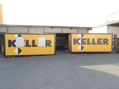 Containerbeschriftung