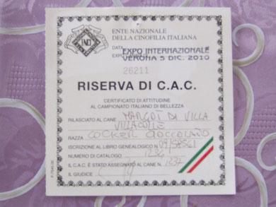 Riserva C.A.C. Internazionale Verona