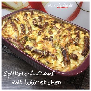 Spätzle Auflauf in der Ofenhexe von Pampered Chef®