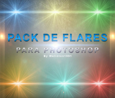 Pack De Flares Para Photoshop