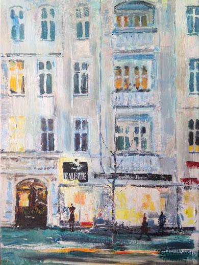 Galerie Jean Michel 50 x70 cm Acryl auf Leinwand . AUFTRAGSARBEIT