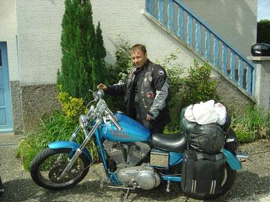 Seb et son 1200 Sporster