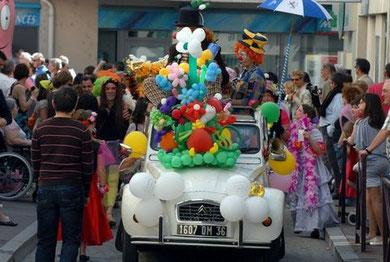 Participation au carnaval de Chateauroux