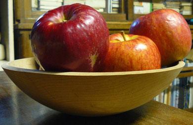 バーモントの木の鉢