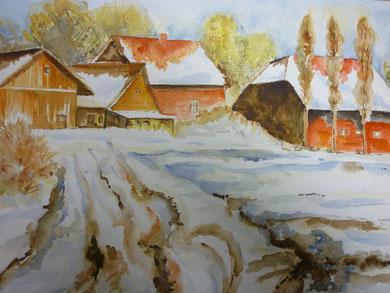 Winterimpressionen nach Vorlage März 2011