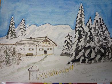 Winterlandschaft nachVorlage Nov.2011