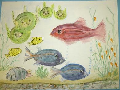 mein Aquarium März 2012