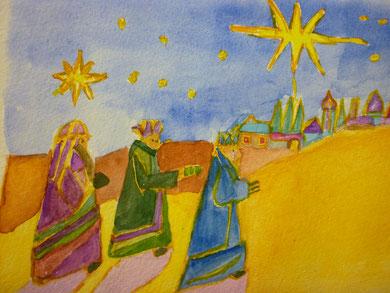 Ingeborg Skronn  : die heiligen drei Könige erreichten Travemünde erst nach den Festtagen