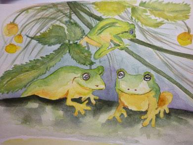 Froschfamilie 2012